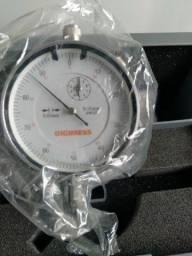 Relógio comparador 0-10mm marca