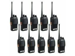 Lote 10 Rádio Comunicador Baofeng WalkTalk bf-777s<br>