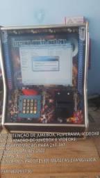 Manutenção jukeBox, videoke e fliperama