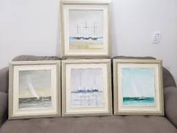 Conjunto de quadros Tadashi Ikoma