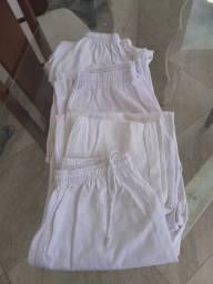 Vendo calças branca nova