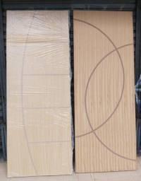 Portas frisadas de 60 a 90 cm a pronta entrega