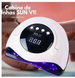 Super Cabine de Unhas Sun UV Led: Forninho 45Leds Manicure Sun V1 Original!!!