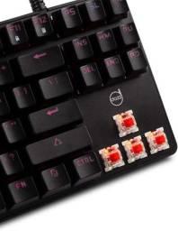 Título do anúncio: Teclado Mecânico Gamer Dazz Alpha Red Switch Gateron Red