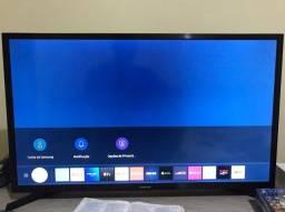 Tv Samsung 32 Smart usada poucas vezes