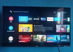 TV Smart 32 Android TV e Comando de Voz