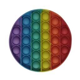 Alivio Do Estress Brinquedo Bolha Push Pop It Colorido - Novo
