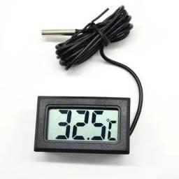 Termômetro Digital Retangular Freezer, Maquina picolé,  Aquários, Estufas<br><br>
