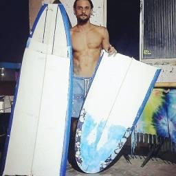 Curso presencial conserto de pranchas de surf
