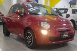 Título do anúncio: Fiat 500 Cult 1.4 Flex 8v EVO  Dualogic 2013