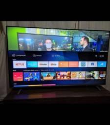Tv 55 smart borda infinita NOVA 5 MESES, COM NOTA E GARANTIA
