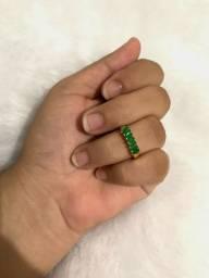 Anéis banhados a ouro