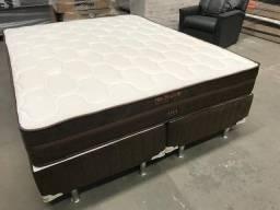 Base + colchão queen size