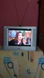 Tv 21 cce real flat, c/garantia,entrego