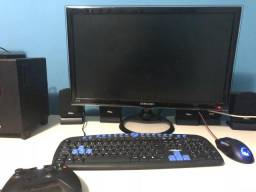 "Monitor LED Samsung 24"" Full HD PC/TV"