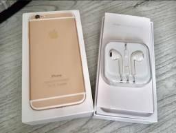 Iphone 6 gold 64gb ( aparelho impecável )