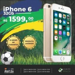IPhone 6 32GB Preto!!! / Pronta Entrega