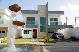 (NAC) Casa Duplex / 3 Suítes Com Varanda / Porcelanato / Quintal