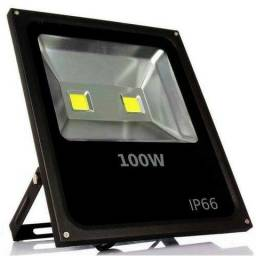 Cs-Refletor LED 100W à prova d'água com luz branco frio Bivolt