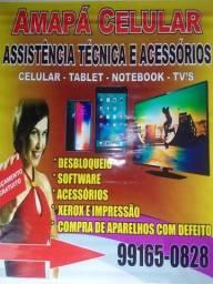 Assistência técnica e acessórios celular TVs e tablet