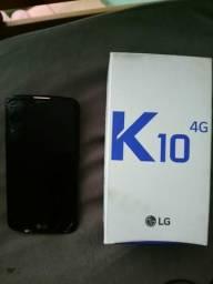 LG k10 c/caixa e nota fiscal