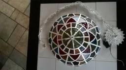 Lustre Mosaíco Colorido