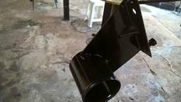 Suporte mangueira filtro ar corcel
