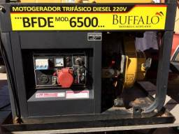 Motogerador trifásico diesel 220v