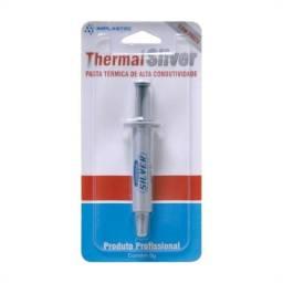 Pasta Térmica Thermal Silver 5g Blister Ptts5gb Implastec
