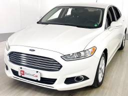 Ford Fusion 2.5L I-VCT Flex Aut. - Branco - 2014 - 2014