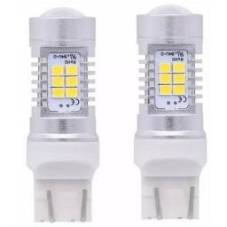Lâmpadas específica LED meia luz e DRL T20. Up, Hilux Srx, 208, Duster, Jeep Cherokee.