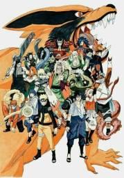 Mangá Naruto Completo