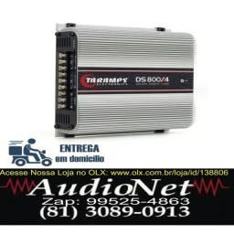 Modulo Taramps Ds800X4 800w Rms 4 canais Som Carro audionet
