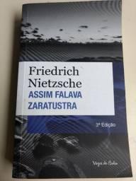 Título do anúncio: Livro Friedrich Nietzsche Assim Falava Zaratustra