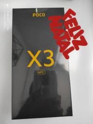 Já é natal! Pocophone X3  da Xiaomi.. Novo lacrado com garantia e entrega hj