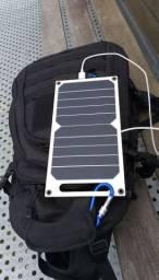 Painel Solar Usb Semi-flexivel Placa Fotovoltaica 10w