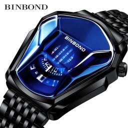 Relógio analógico BINBOND novo