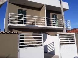 Lindíssima casa com 2 andares e garagem em São Pedro da Aldeia!
