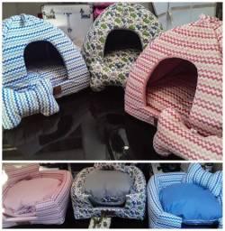 Toca em Glu 2x1 cama e toca ideal para Cães e Gatos
