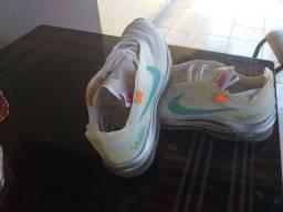 Tênis Nike com Offwhjte Original