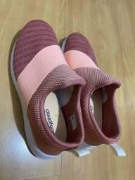 Tênis adidas rosa