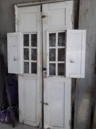Porta em madeira de lei R$ 60.00
