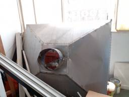 Vendo coifa em alumínio