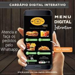 Cardapio digital interativo