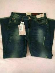 Calça jeans Handara número 42 jeans com Lycra nova