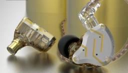 Retorno de Palco KZ ZS10 PRO, Melhor Fone da KZ com qualidade acima da média