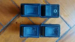 4 botões do painel do agrale 1880d