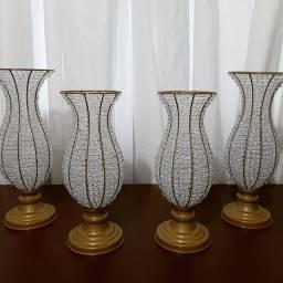 Vasos de Cristal para Decoração