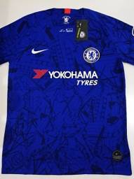 Camisa Chelsea Home Nike 19/20 - Tamanho: M