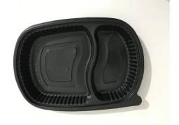 Embalagens Marmitex Freezer Microondas 2 Divisorias com Tampa